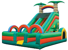 Tropical Slide & Obstacle with Tunnel 1